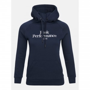 Bluza z kapturem Peak Performance W ORIGINAL HOOD