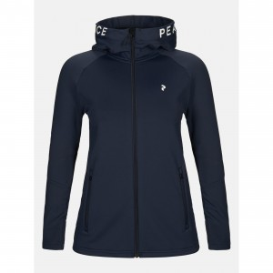 Bluza z kapturem Peak Performance W RIDER ZIP HOOD