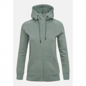 Bluza z kapturem Peak Performance W ORIGINAL ZIP HOOD